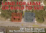 Land for Lease or Build to Suit - New Port Richey, FL
