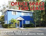South Tampa Office Building for Lease